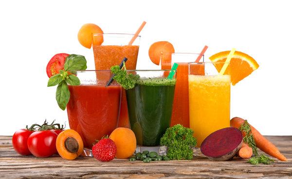 estrattori e centrifughe per succhi di frutta e verdure